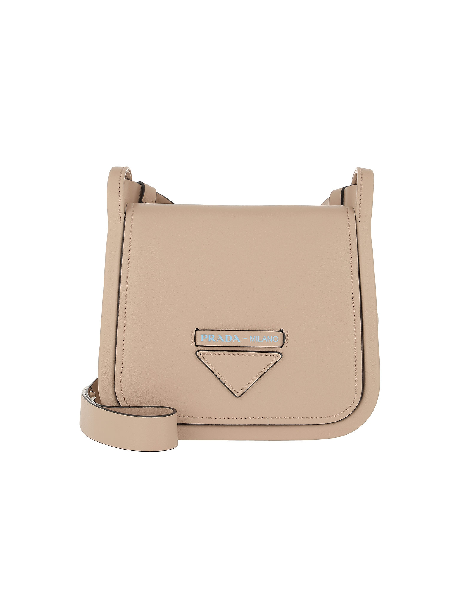 Prada Handbags, Crossbody Bag With Logo Leather Cammeo