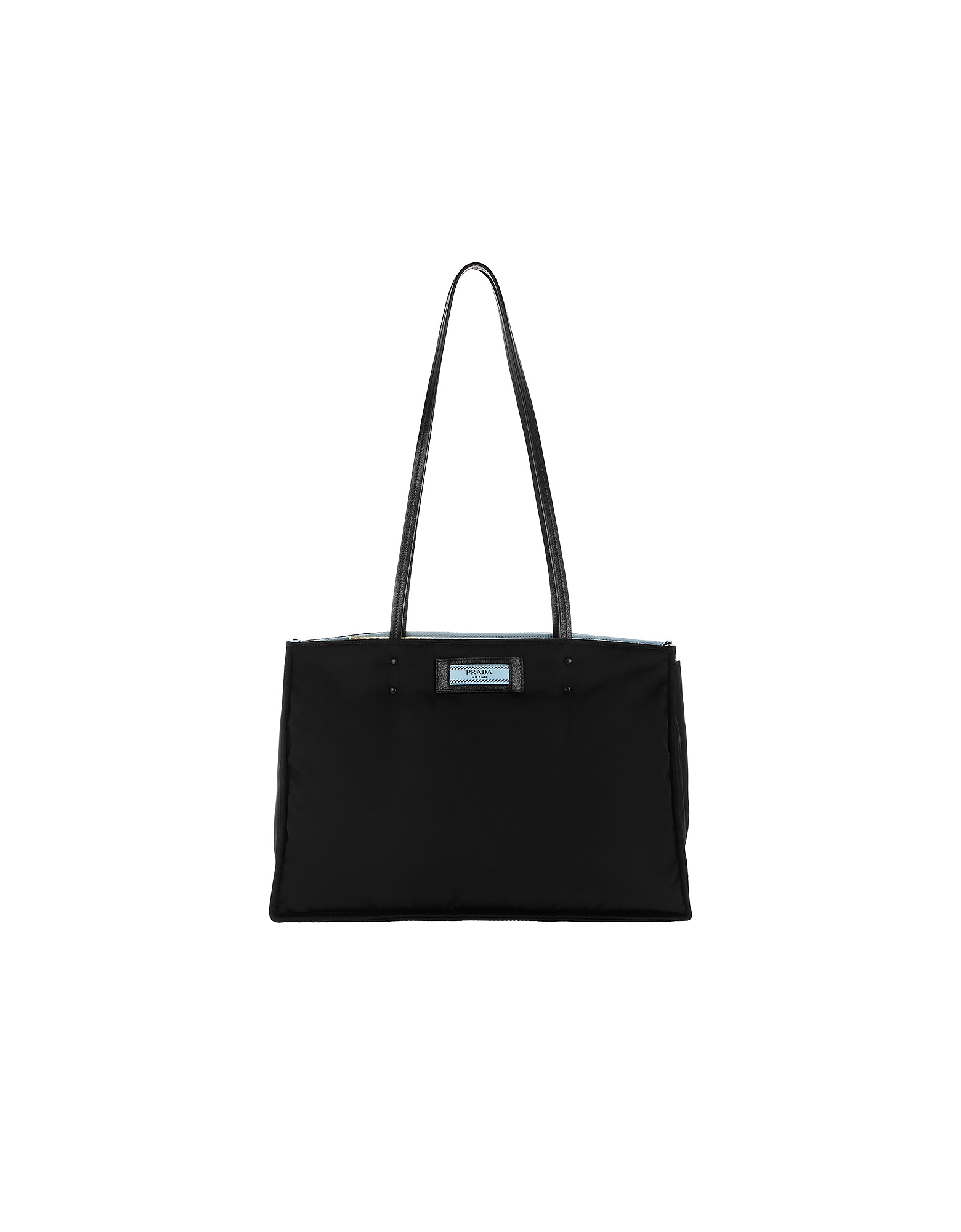Shopping Bag Tessuto Nero/Astrale