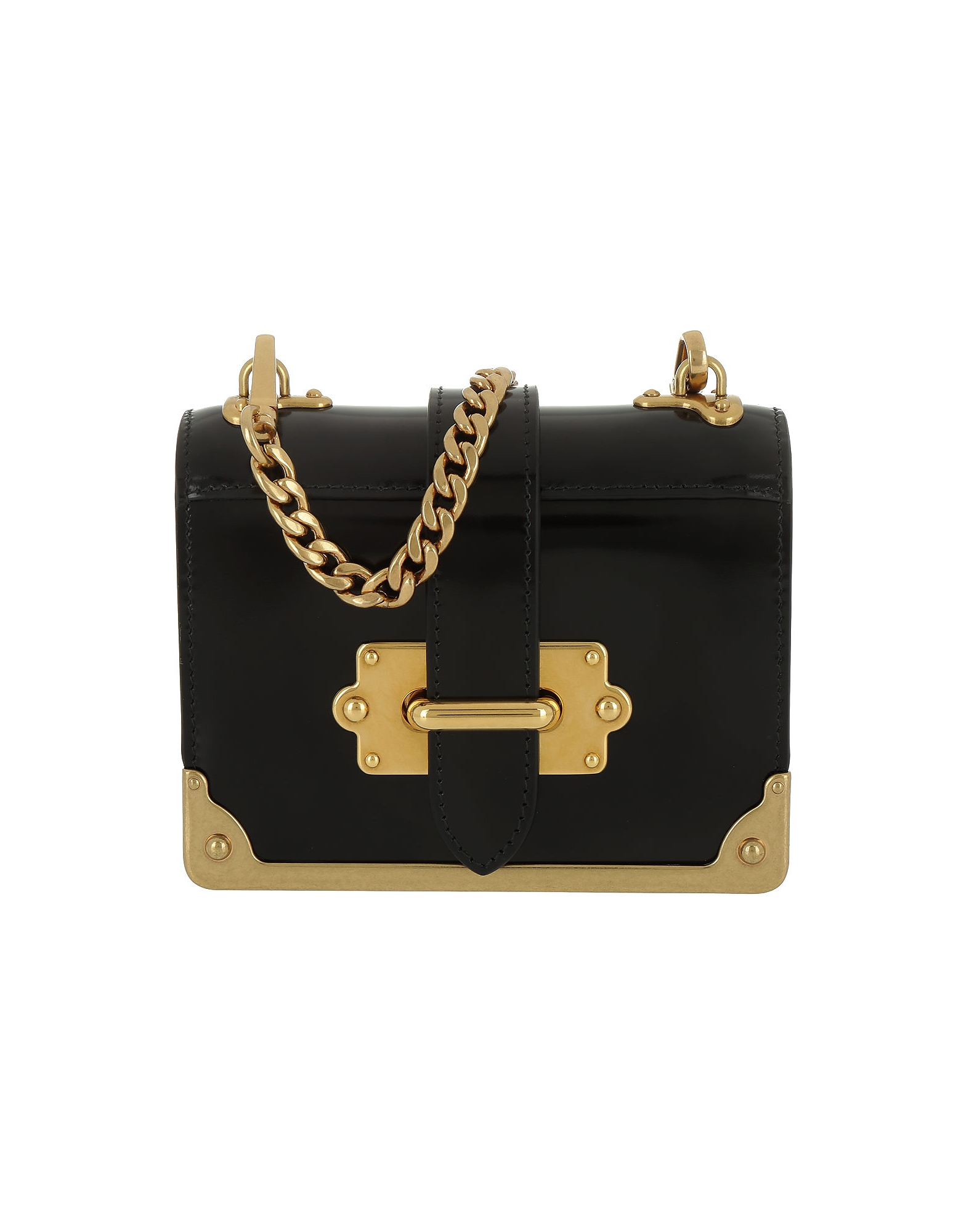 Prada Handbags, Micro Cahier Bag Black
