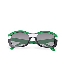 Multicolor Rectanguar Sunglasses - Prada