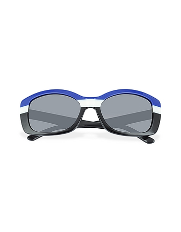 Multicolor Rectanguar Sunglasses