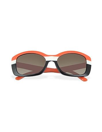 Prada - Multicolor Rectanguar Sunglasses