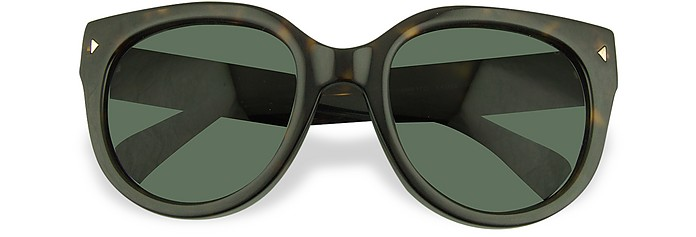 Signature Temple Sunglasses - Prada