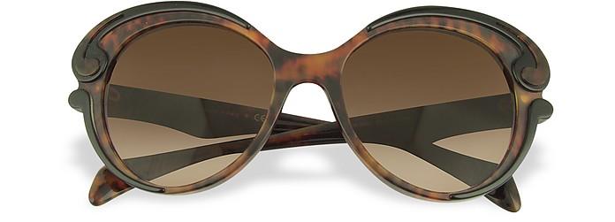 Swirled Frame Sunglasses - Prada