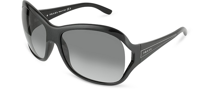 Signature Temple Round Sunglasses - Prada