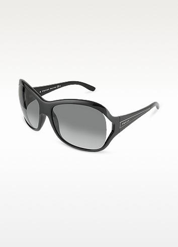 Signature Temple Round Sunglasses - Prada