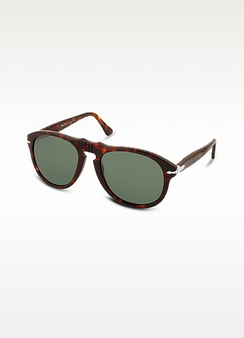 Arrow Signature Aviator Plastic Sunglasses - Persol