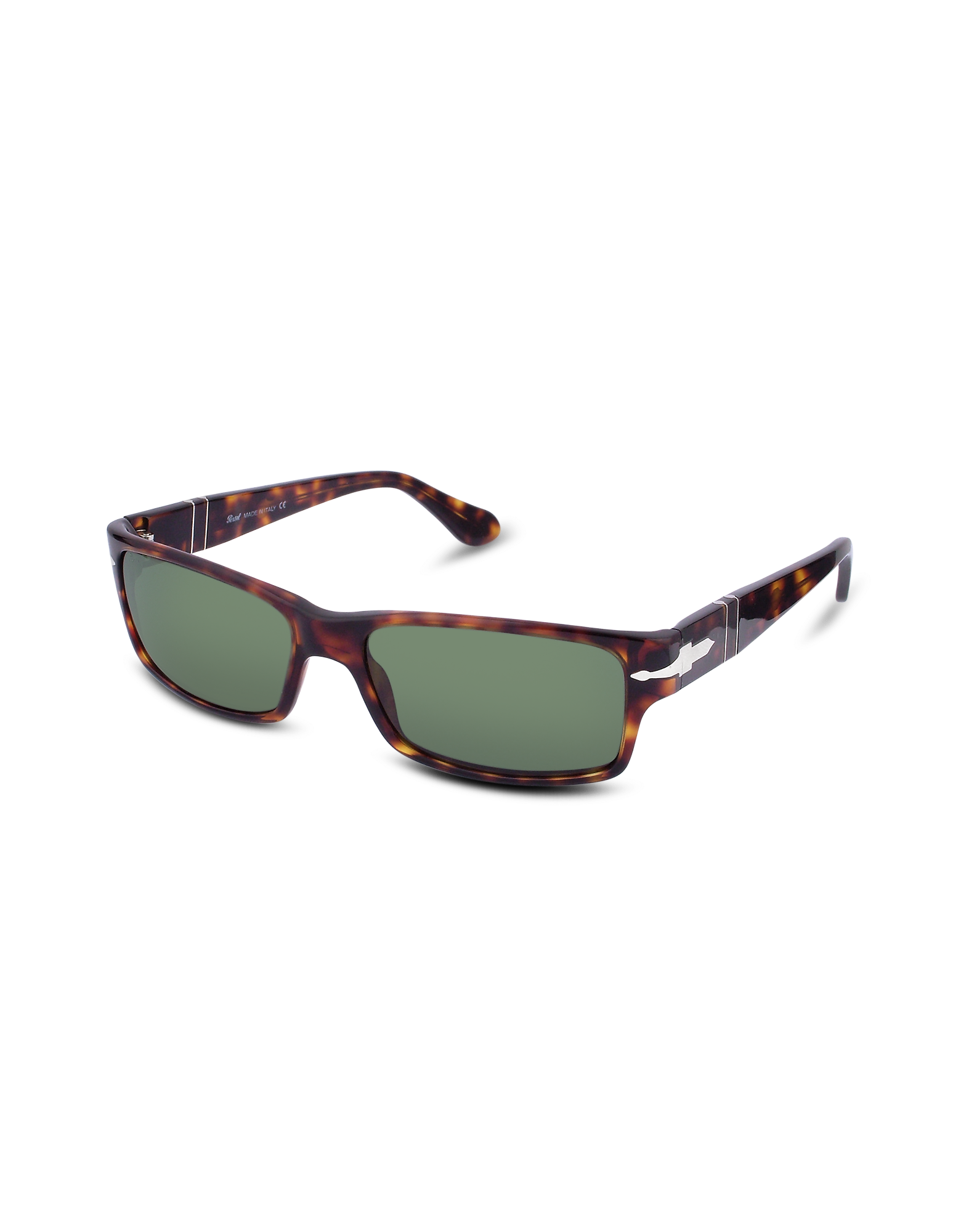 Image of Arrow Signature Rectangular Plastic Sunglasses