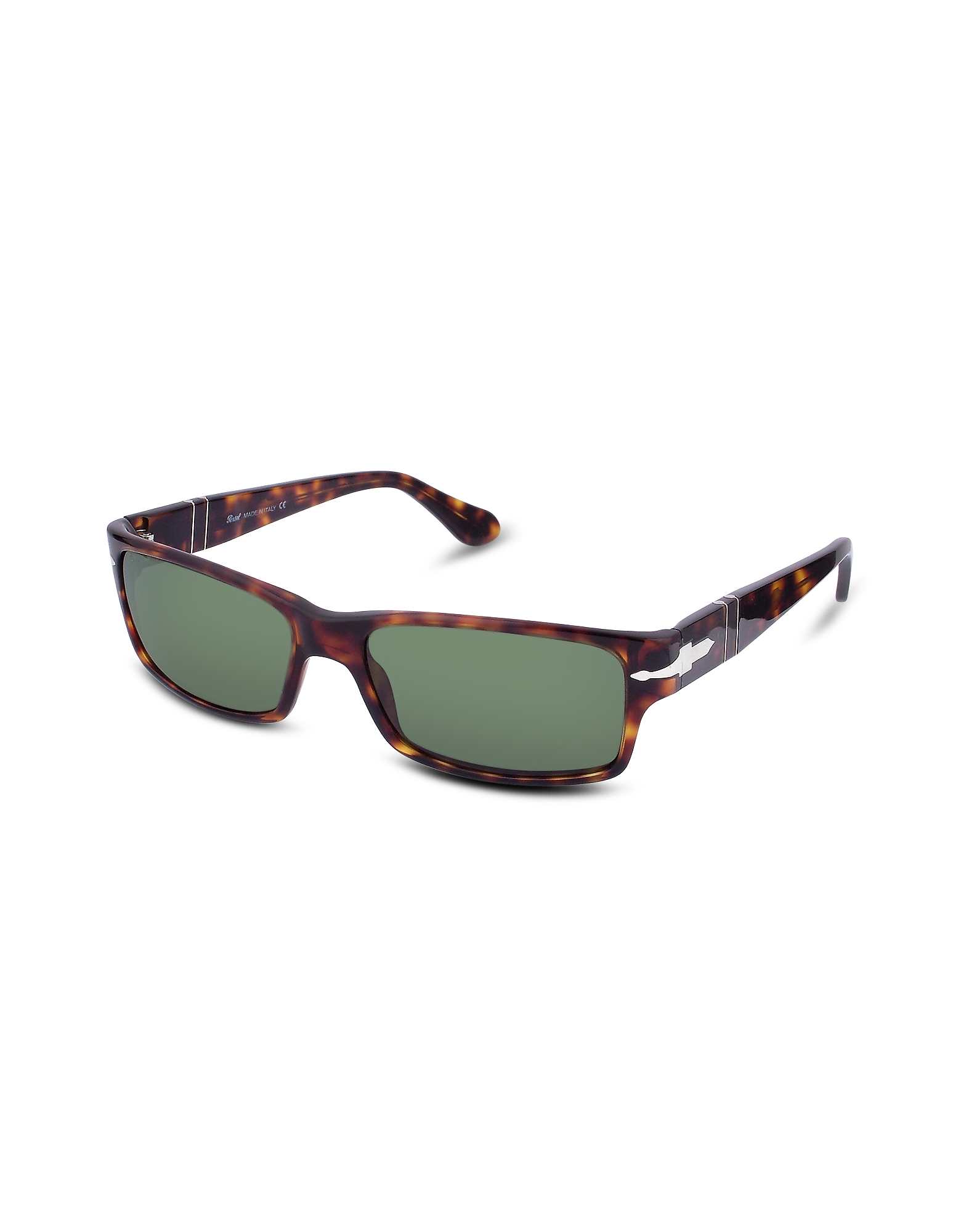 Persol Sunglasses, Arrow Signature Rectangular Plastic Sunglasses