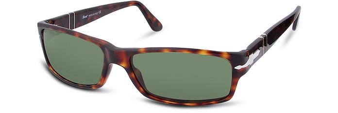 Arrow Signature Rectangular Plastic Sunglasses - Persol