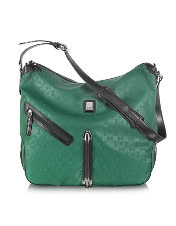 Piero Guidi - Every Boly Green Angel Printed Shoulder Bag