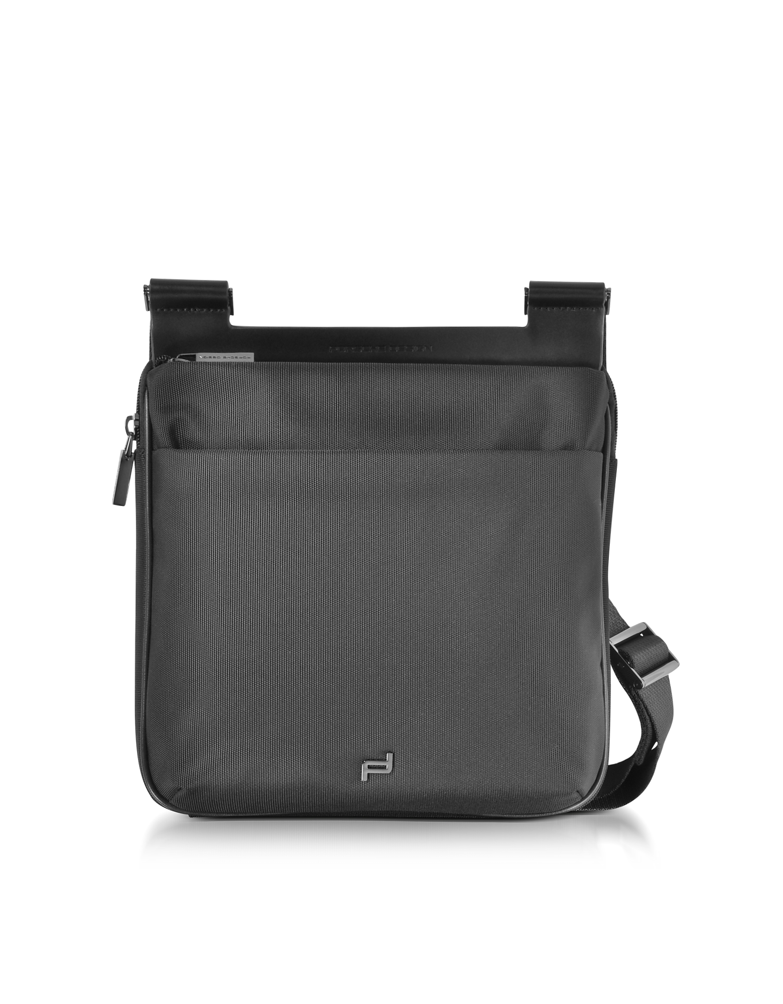 Porsche Design Travel Bags, M2 Black Shyrt Nylon Crossbody Bag