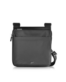 M2 Black Shyrt Nylon Crossbody Bag - Porche Design