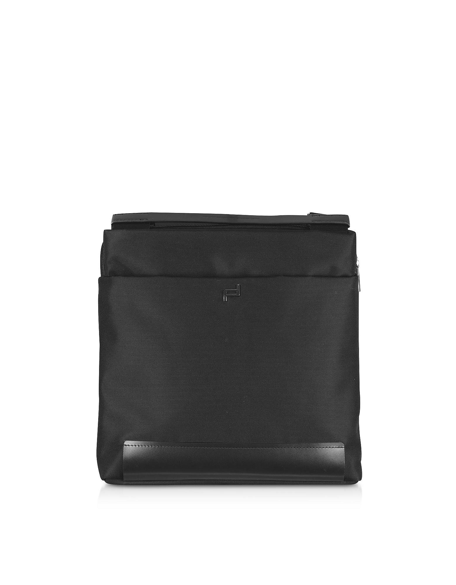 Shyrt 2.0 Nylon XSVZ Shoulder Bag, Black