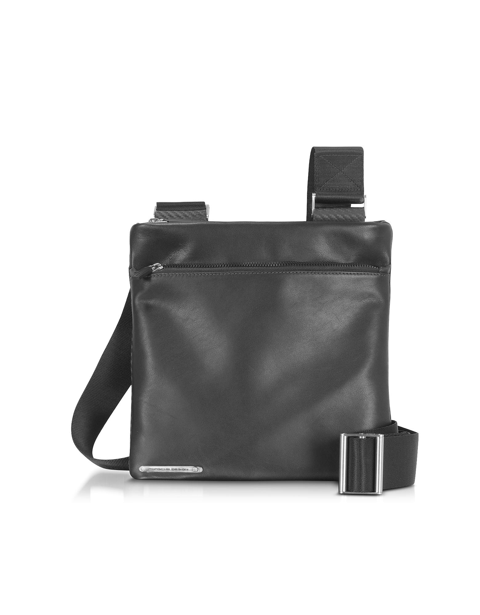 Porsche Design Designer Travel Bags,  CL 2.0 - Black Crossbody Bag