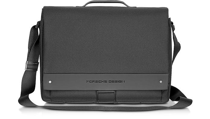 BriefBag FS Black Laptop Messenger Bag - Porsche Design