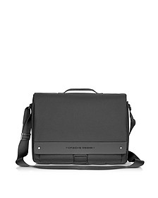 BriefBag FS Black Laptop Messenger Bag - Porsche Design