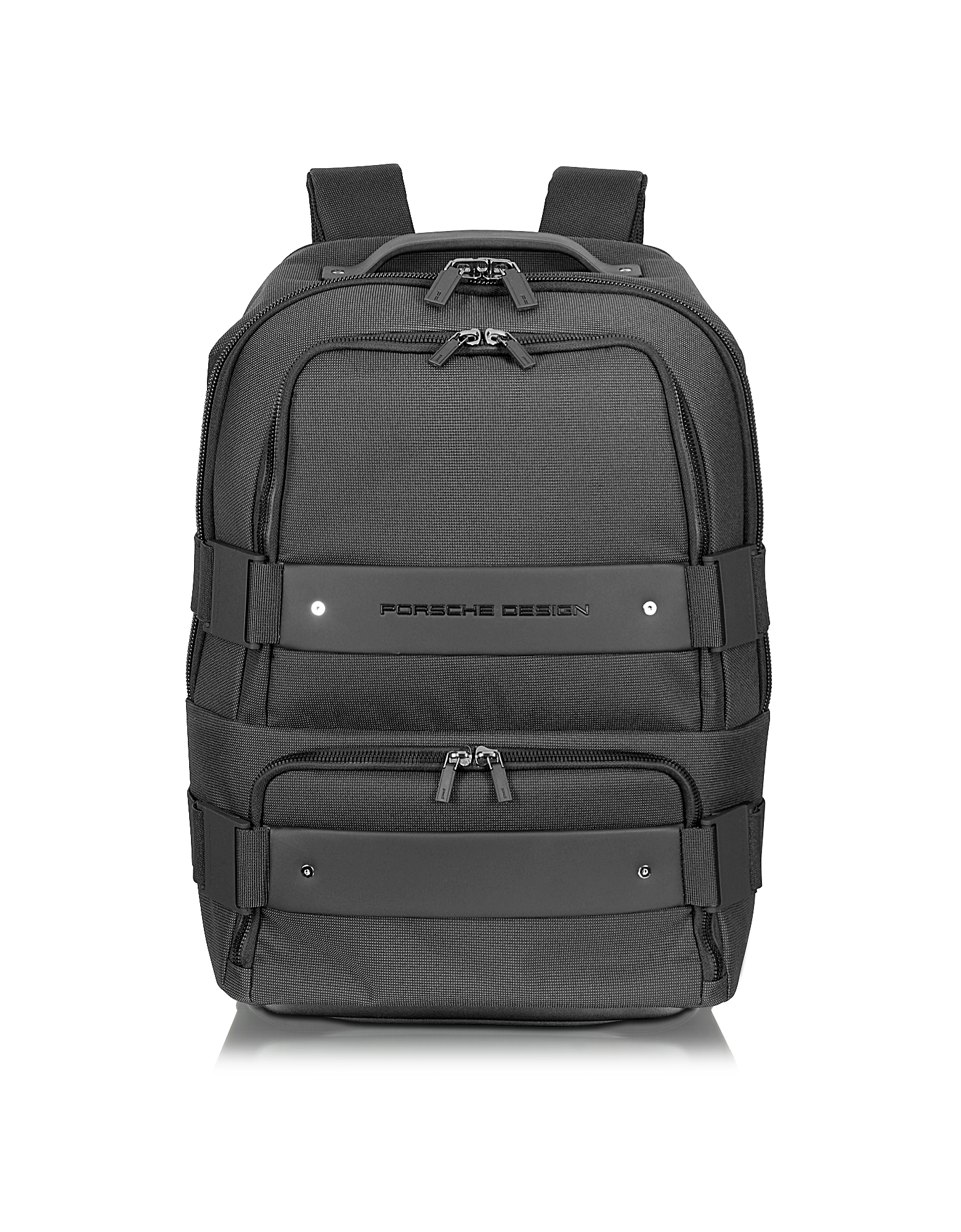 Porsche Design Backpacks, Twin BackBag - Black Backpack Carry On Trolley