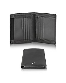 Touch Black Leather V11 Vertical Billfold Wallet - Porsche Design