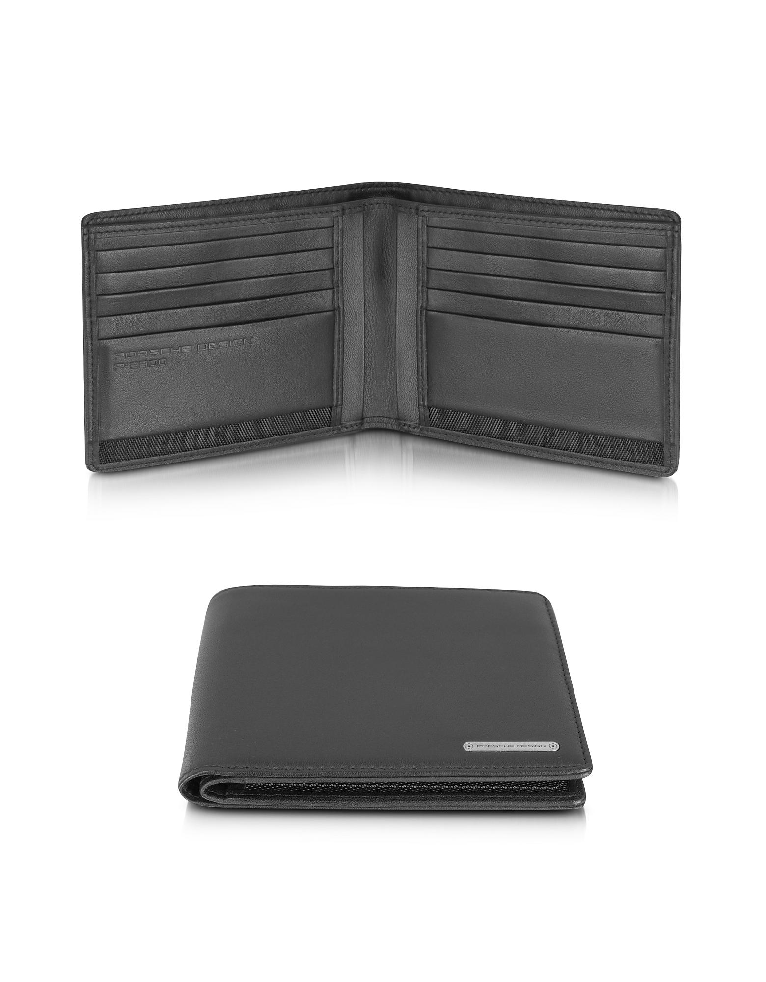 Porsche Design CL 2.0 - Черный Бумажник из Натуральной Кожи