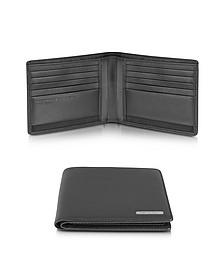 CL 2.0 - Portemonnaie aus echtem schwarzem Leder - Porsche Design