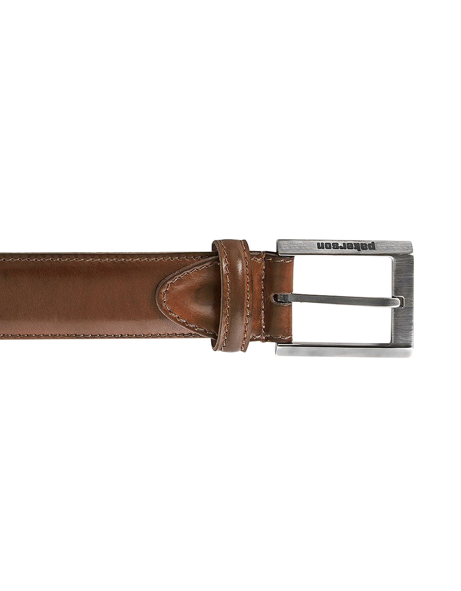 Pakerson Designer Men's Belts, Volterra Cocoa Handmade Italian Leather Belt