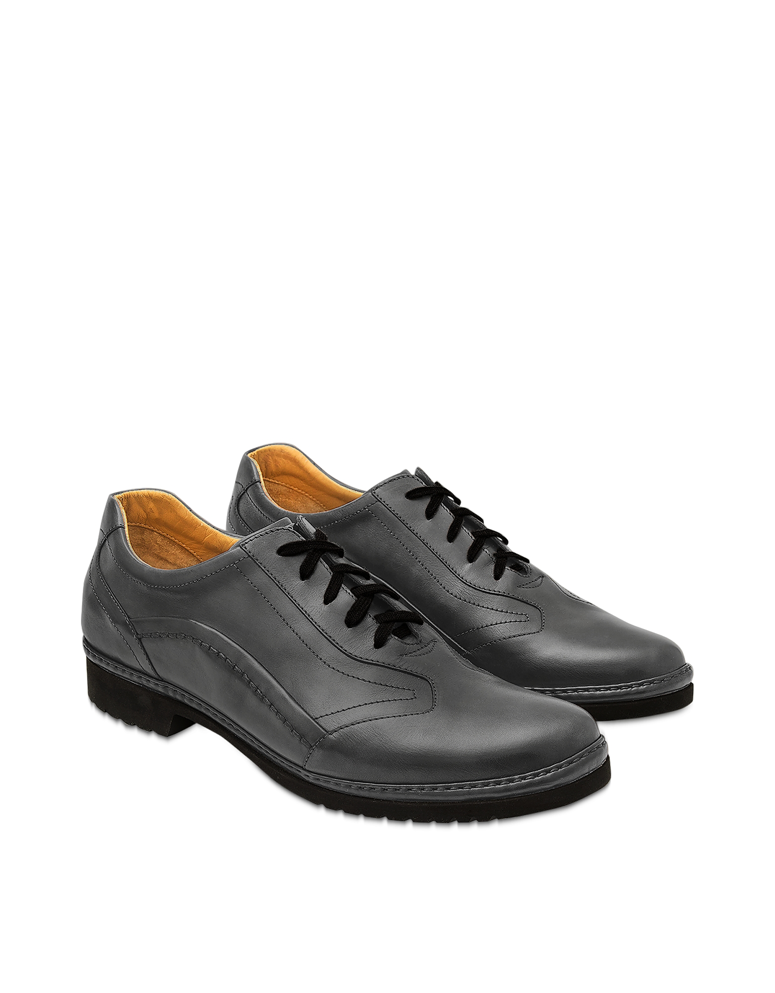 Pakerson Designer Shoes, Smoke Pienza Derby Shoe