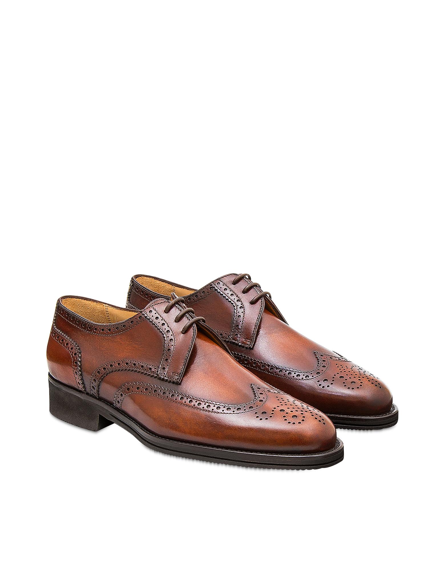 Pakerson Designer Shoes, Wood Pisa Derby Shoe