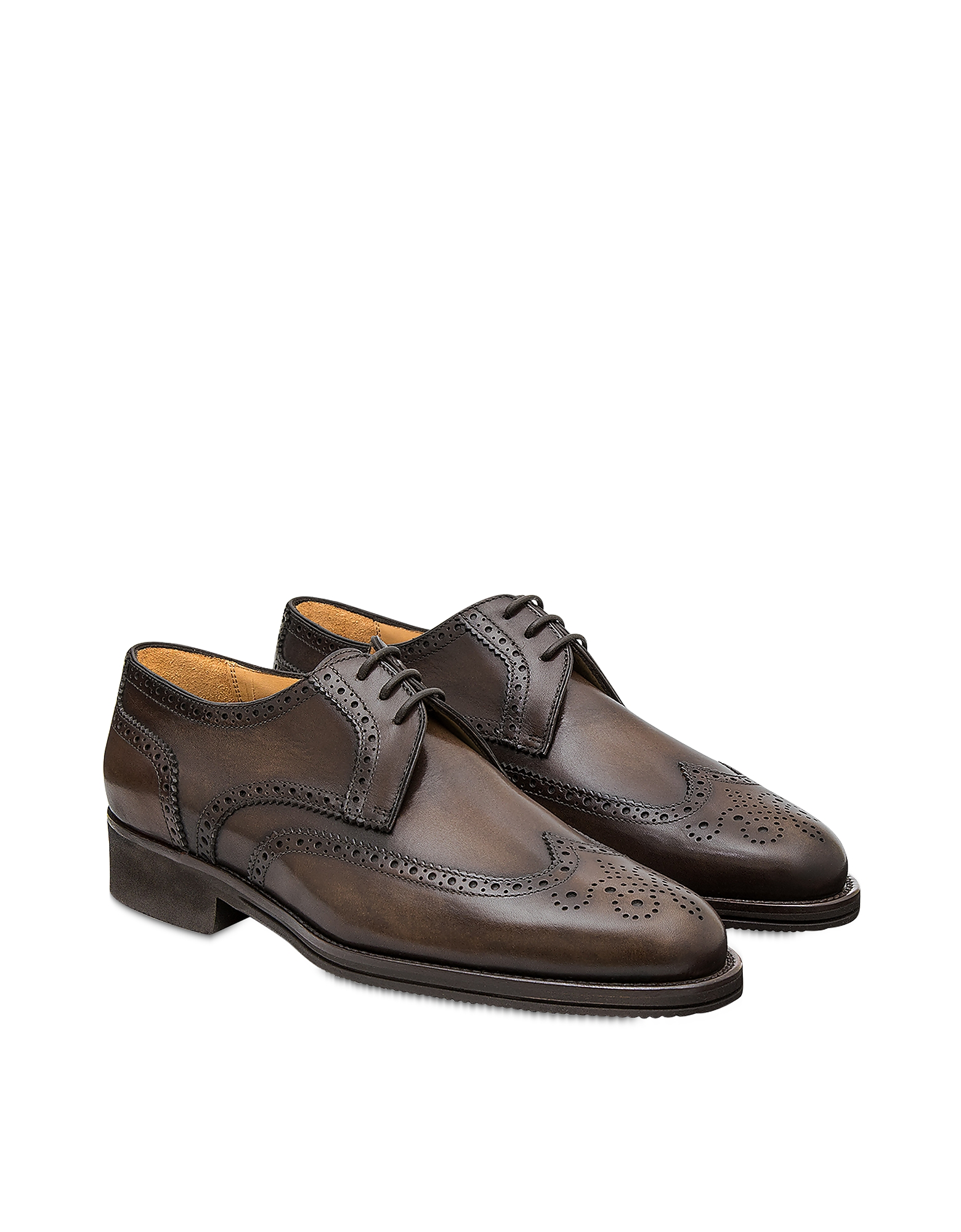 Pakerson Designer Shoes, Coffee Pisa Derby Shoe