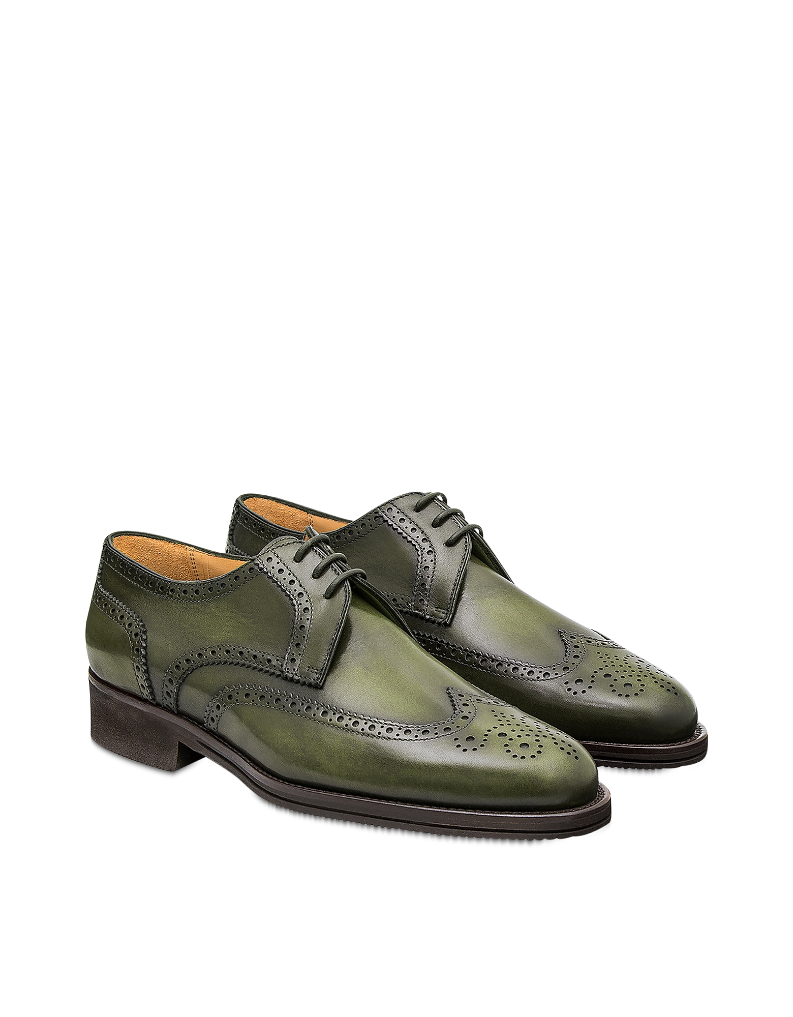 Pakerson Designer Shoes, Turtle Pisa Derby Shoe