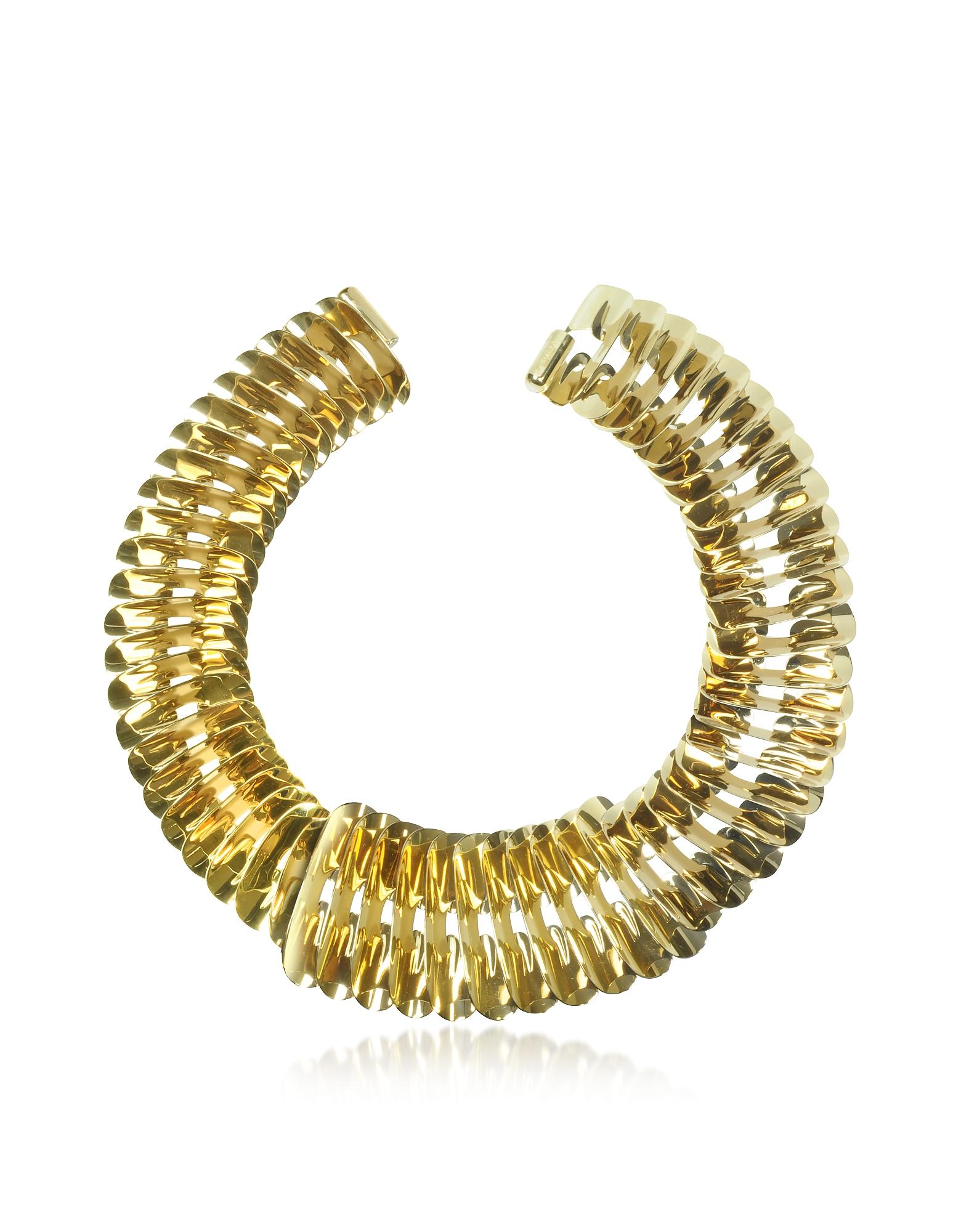 Pluma Necklaces, Gold Fishbone Necklace