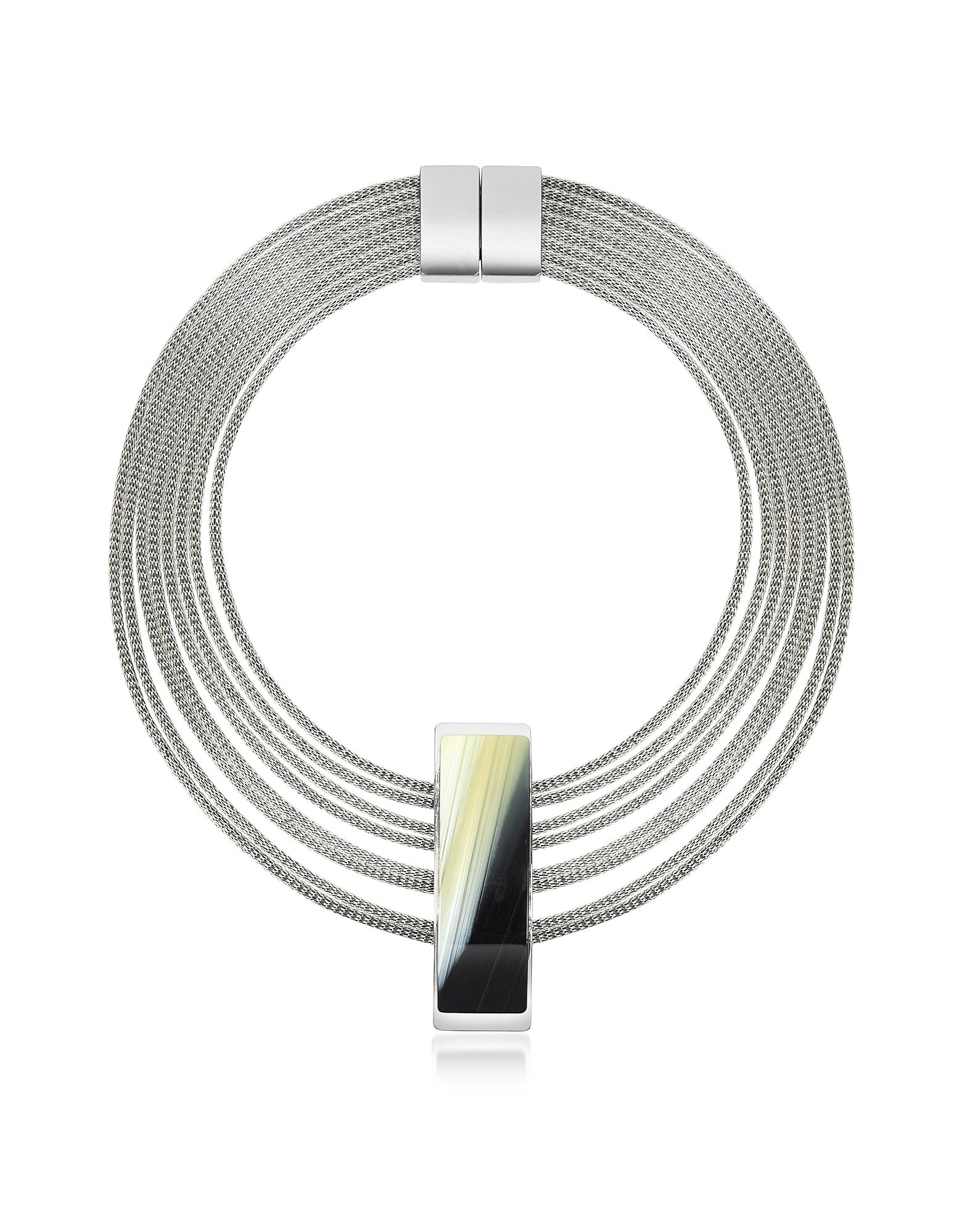 Fumoso - Черное Ожерелье из Четырех Нитей