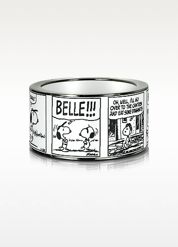 Peanuts Printed Brass Bangle - Pluma