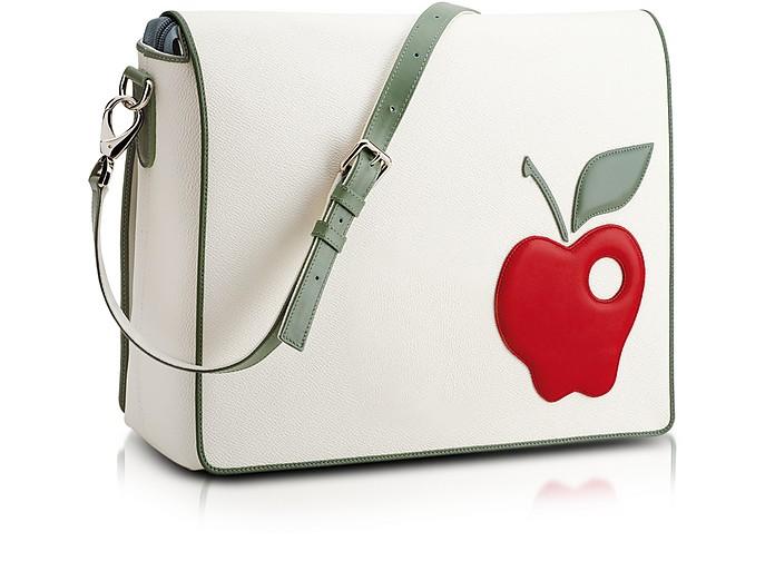 Red Apple Messenger Changing Bag - Pineider
