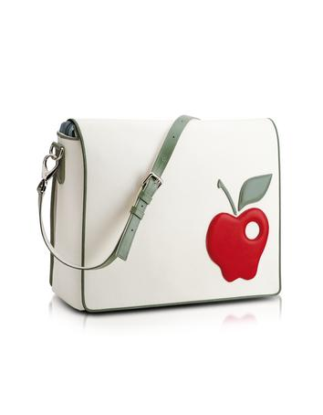 Red Apple Messenger Changing Bag