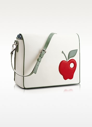 Red Apple Messenger Changing Bag - Pineider