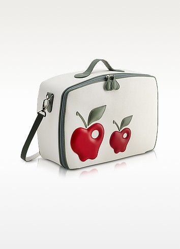 Red Apple Mini Travel Bag  - Pineider