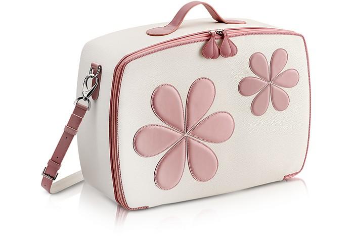 Pink Flower Mini Travel Bag  - Pineider
