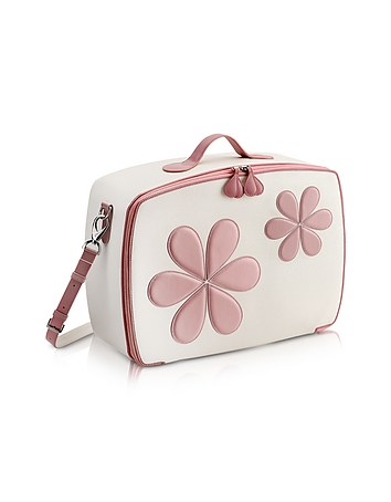 Pink Flower Mini Travel Bag