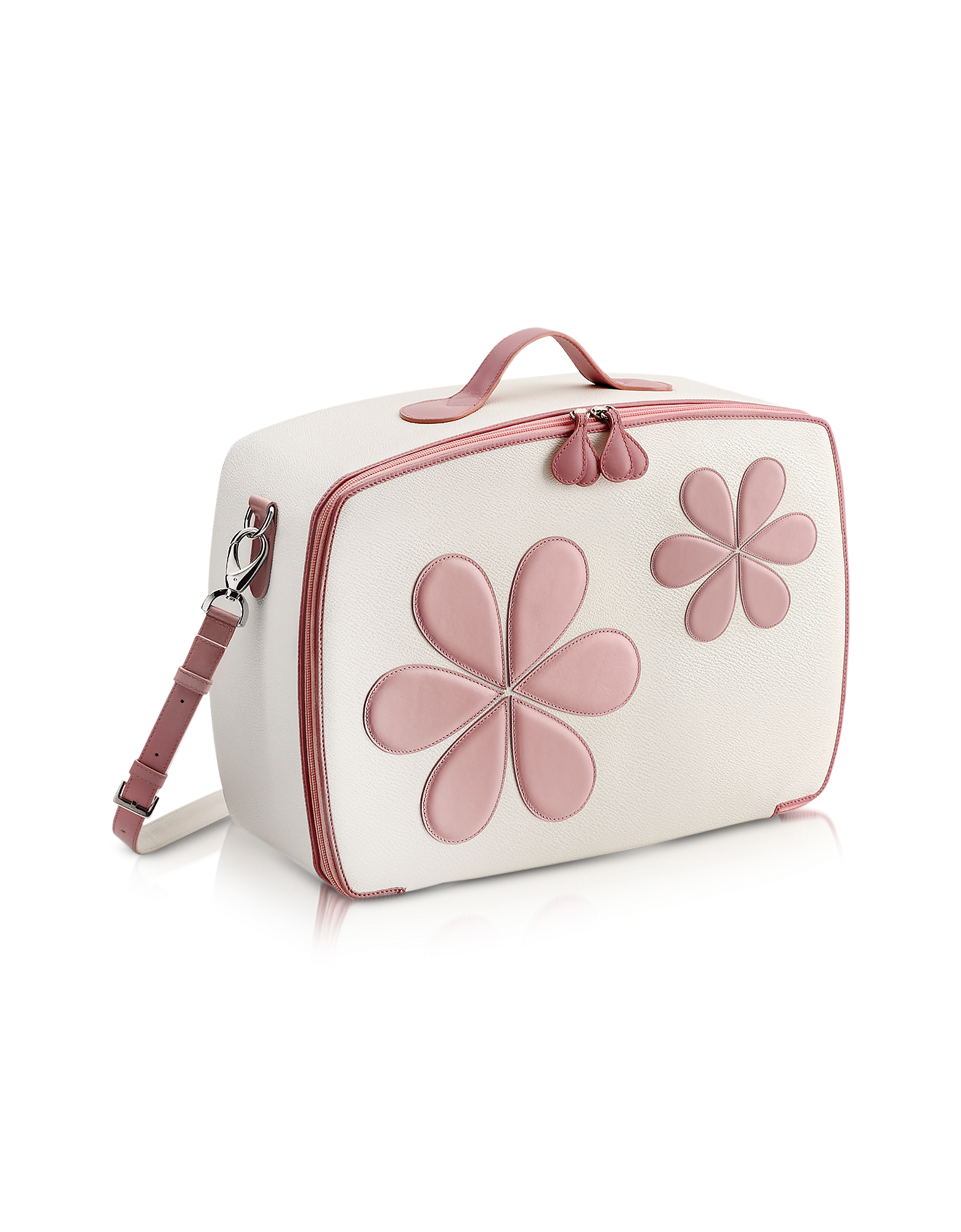 Pink Flower Mini Travel Bag