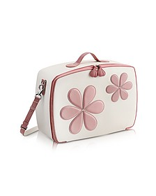 Pink Flower Mini Travel Bag  - Pineider