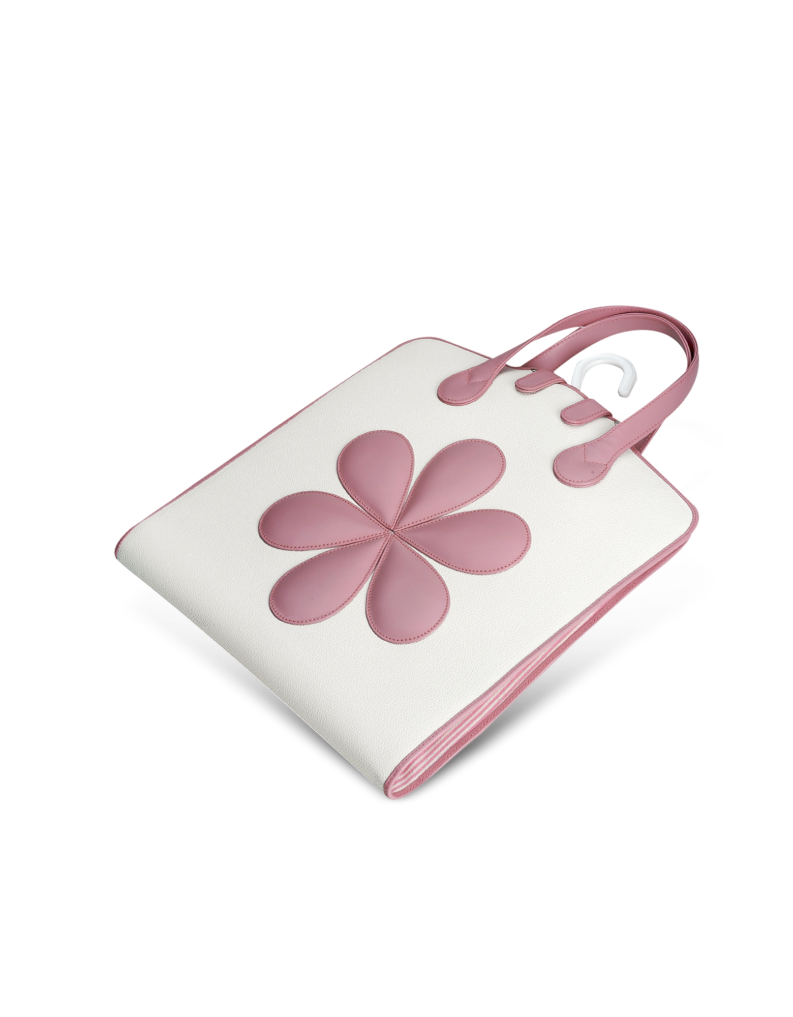 Pineider Travel Bags, Pink Flower Baby Garment Bag