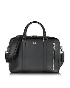 City Chic - Mittelgroße Handtasche aus Leder - Pineider