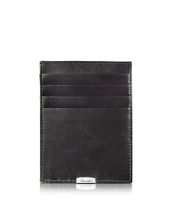1949 Black Leather Multicard Holder pn160016-001-00