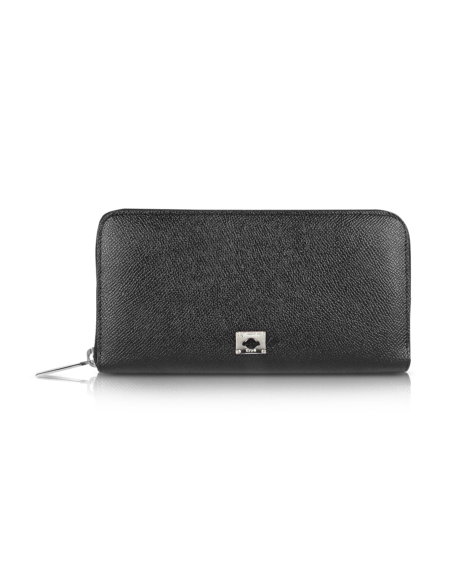 City Chic - Women's Zip Around Calfskin Wallet