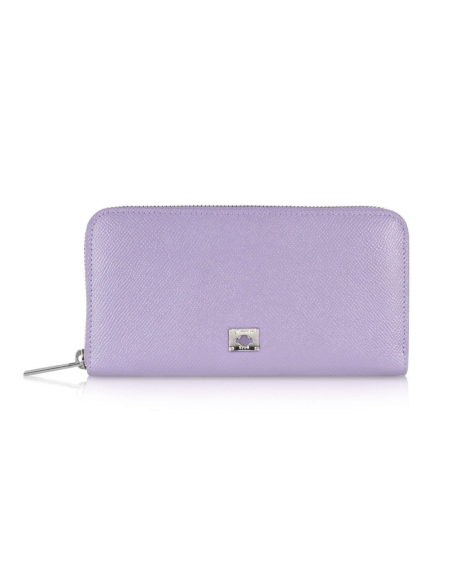 Pineider Wallets, City Chic - Women's Zip Around Calfskin Wallet