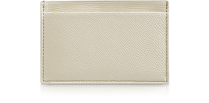 City Chic - Flat Calfskin Business Card Holder with Slots - Pineider