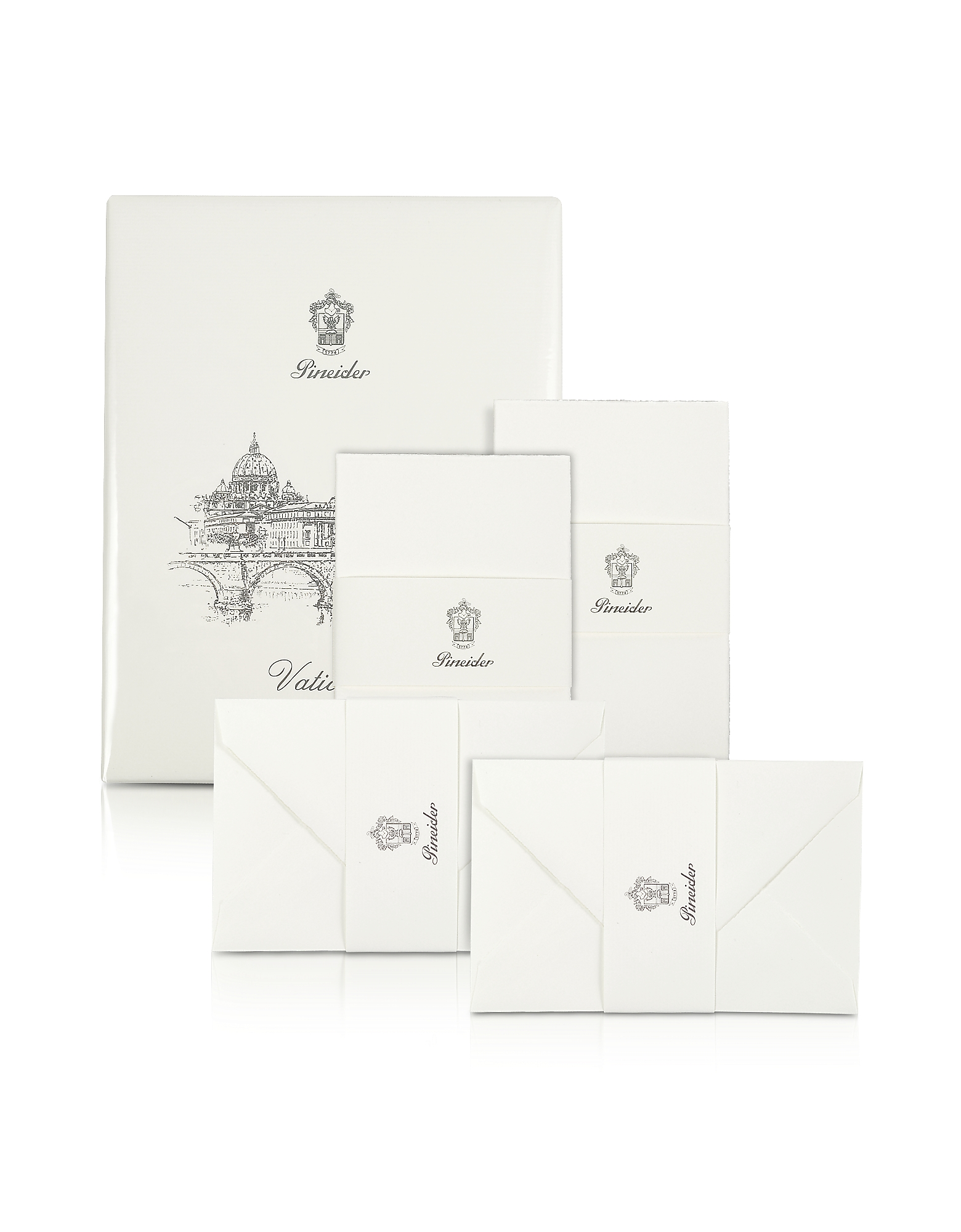 Vaticano - 25 Water-Cut Note Cards