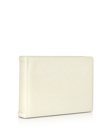Small Ivory Leather Photo Album