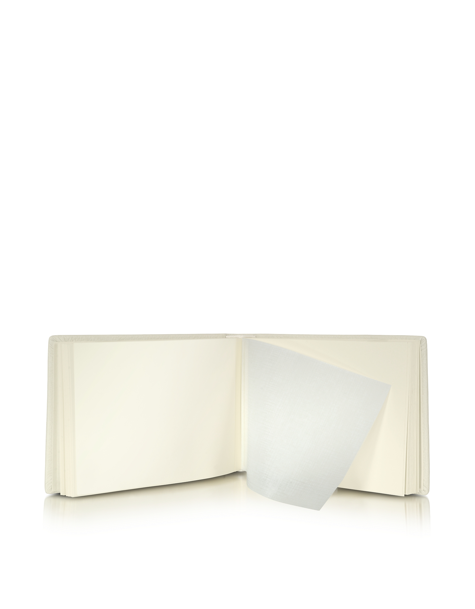 Small Ivory Leather Photo Album от Forzieri.com INT